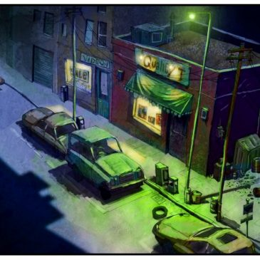 ParaNorman concept artwork