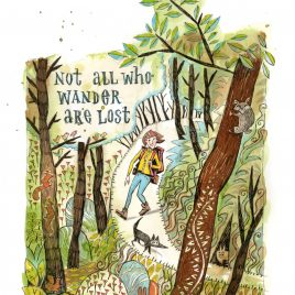 Not all who wander – Print